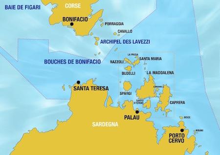 vacanze in barca a vela con skipper Sardegna itinerario