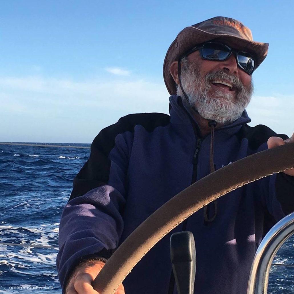 vacanze in barca a vela con skipper Sardegna Omero Moretti