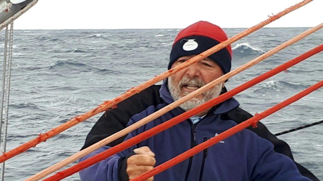 skipper in Sardegna Omero Moretti skipper